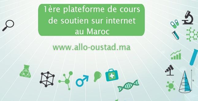 Allo-Oustad, première plateforme de soutien scolaire à distance au Maroc