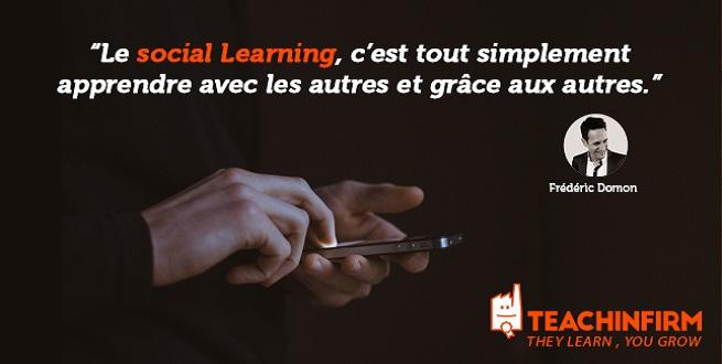 [Interview] Frédéric Domon évoque pour Educadis sa conception du Social Learning