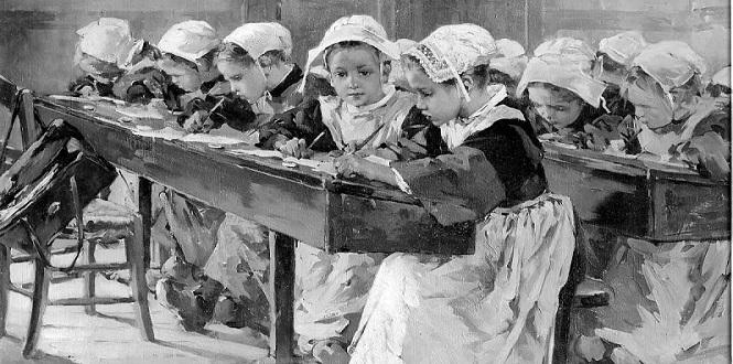 [École] Petite histoire de la dictée à la française
