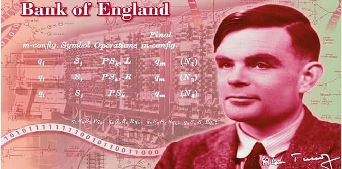 Alan Turing, machine learning et billets de banque