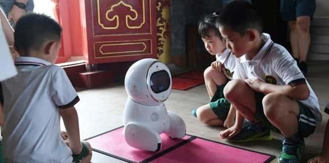 Keeko, l'enseignant robot