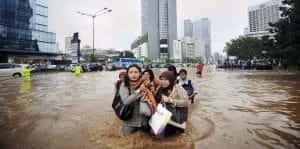 Le système éducatif indonésien à l'eau