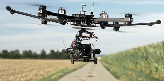 Des drones nourris au deep learning